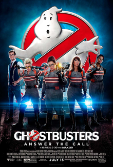 Ghost Buster Movie Poster
