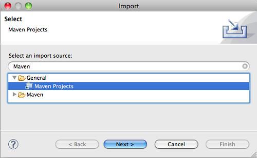 Maven Project Import