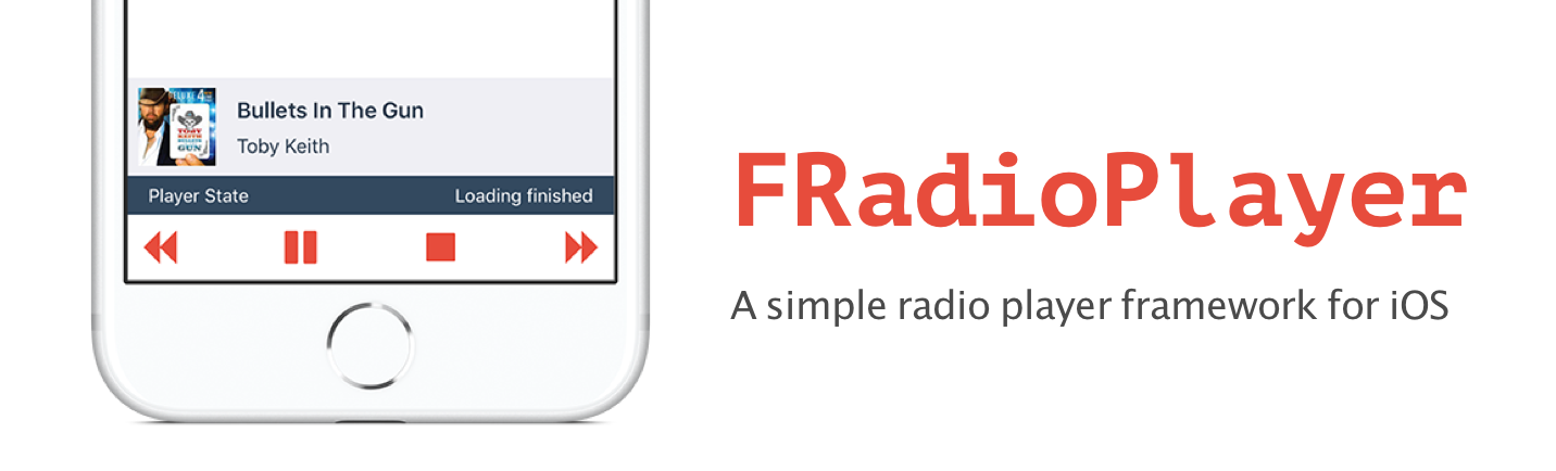 GitHub - fethica/FRadioPlayer: A simple radio player framework for