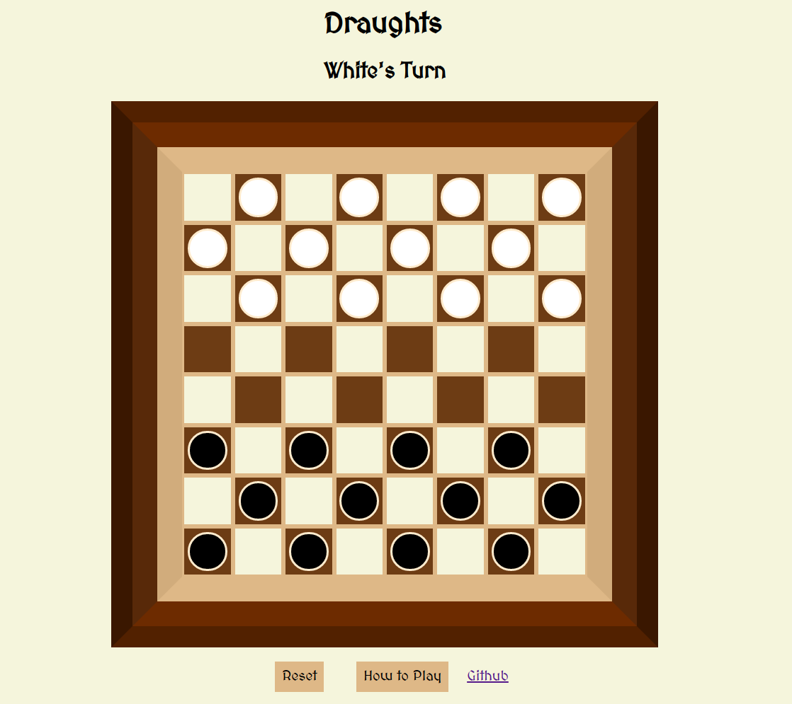 Checkers Layout