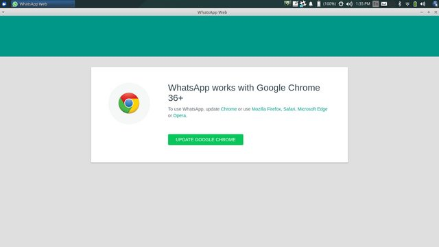 WhatsApp Web stopped working around 2018-11-30 - Asks for