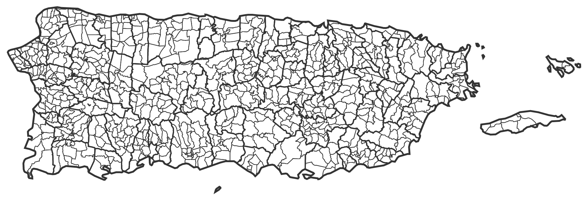 GitHub Miguelriosatlaspr Interactive Detailed Maps Of Puerto Rico - Political map of puerto rico