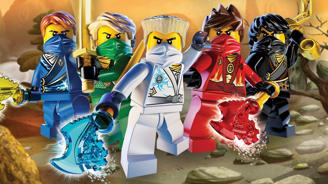It is an image of Persnickety Pictures of Ninjago Characters