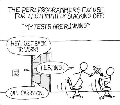 Perl's version of waiting for a compile
