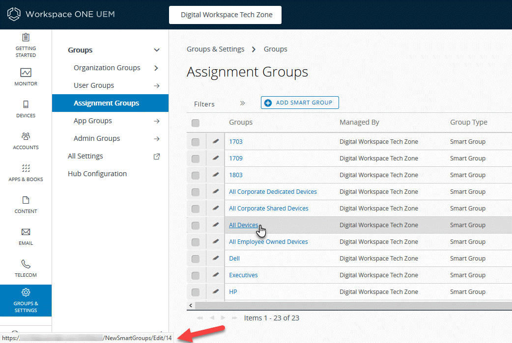 Windows 10 - Workspace ONE Sensors Samples - Samples - VMware {code}