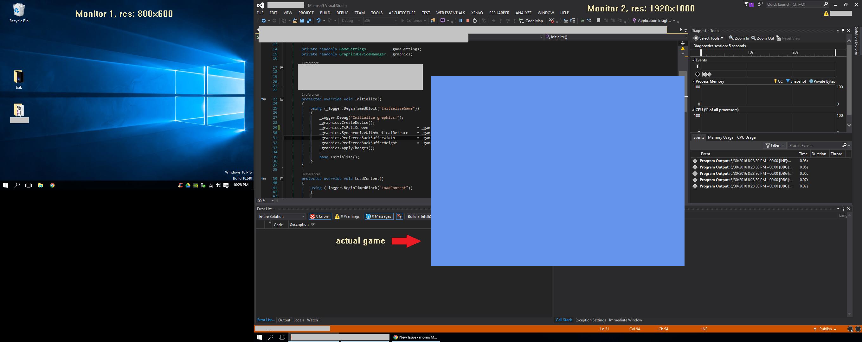 Weird fullscreen behavior on DesktopGL platform with multi-montor