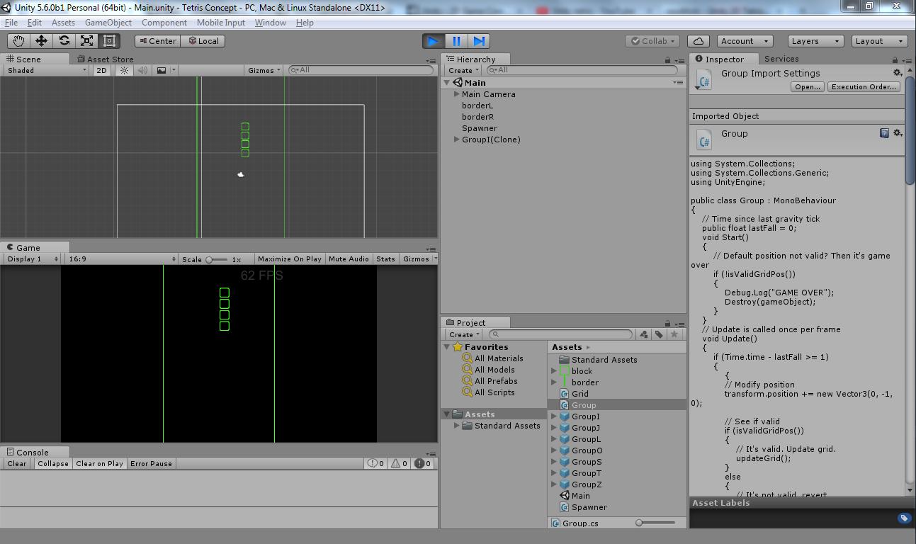 GitHub - Veritas83/VGS-Tetris: Simple 2D Tetris Game in Unity