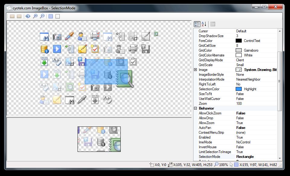 ImageBox control demonstration