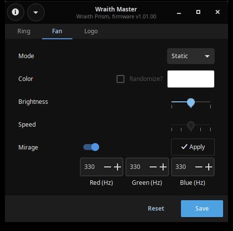 Github Serebit Wraith Master A Native Linux Rgb Control Application For The Amd Wraith Prism Gitlab Mirror