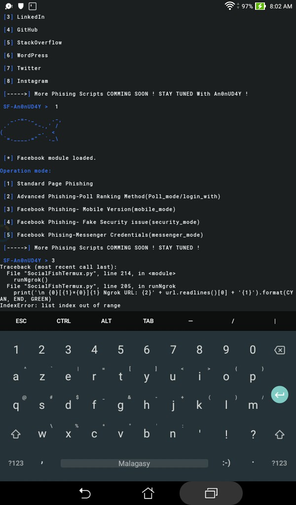 SocialFishTermux NGROK issue with architecture  · Issue #7