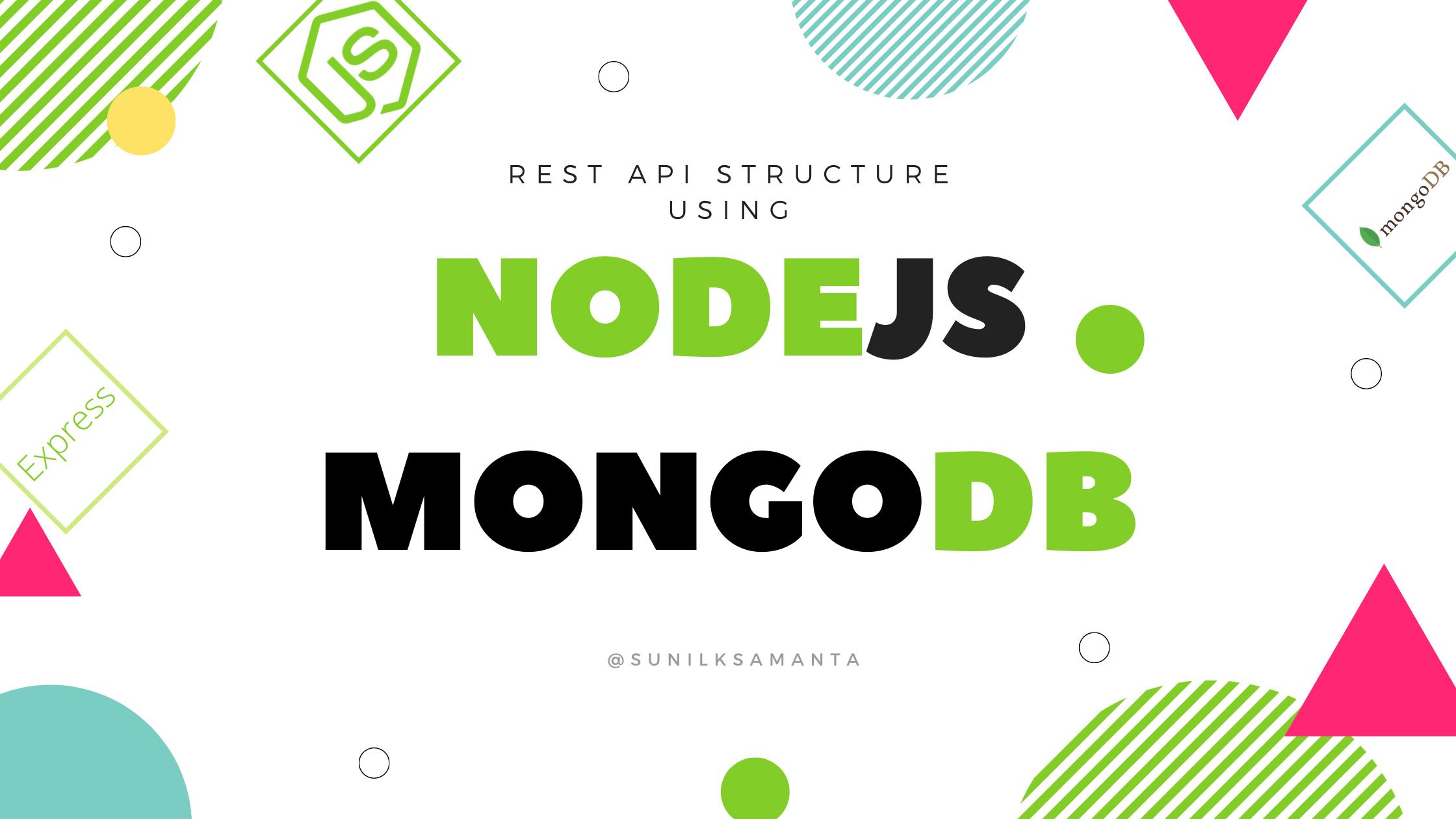 REST API Setup Nodejs MongoDB