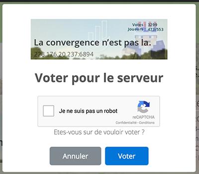 Screen plugin de vote
