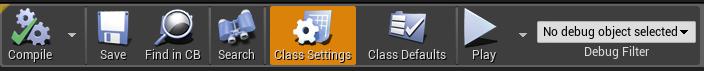 Class Settings button