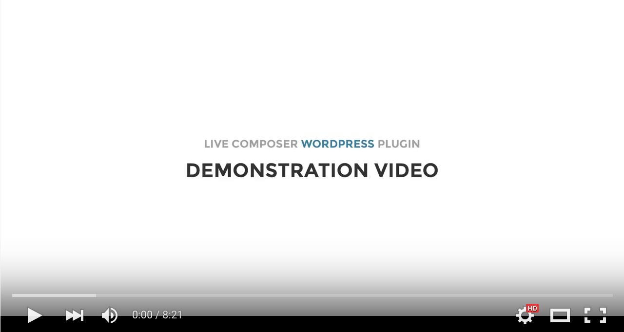 Live Composer Video Review