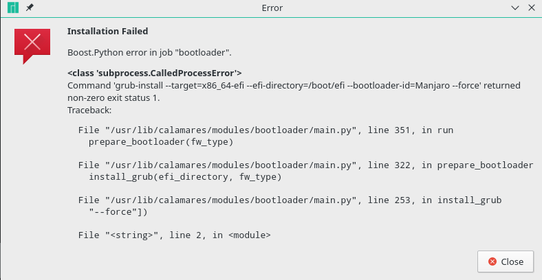 bootloader module fails when /EFI/Boot exists · Issue #692