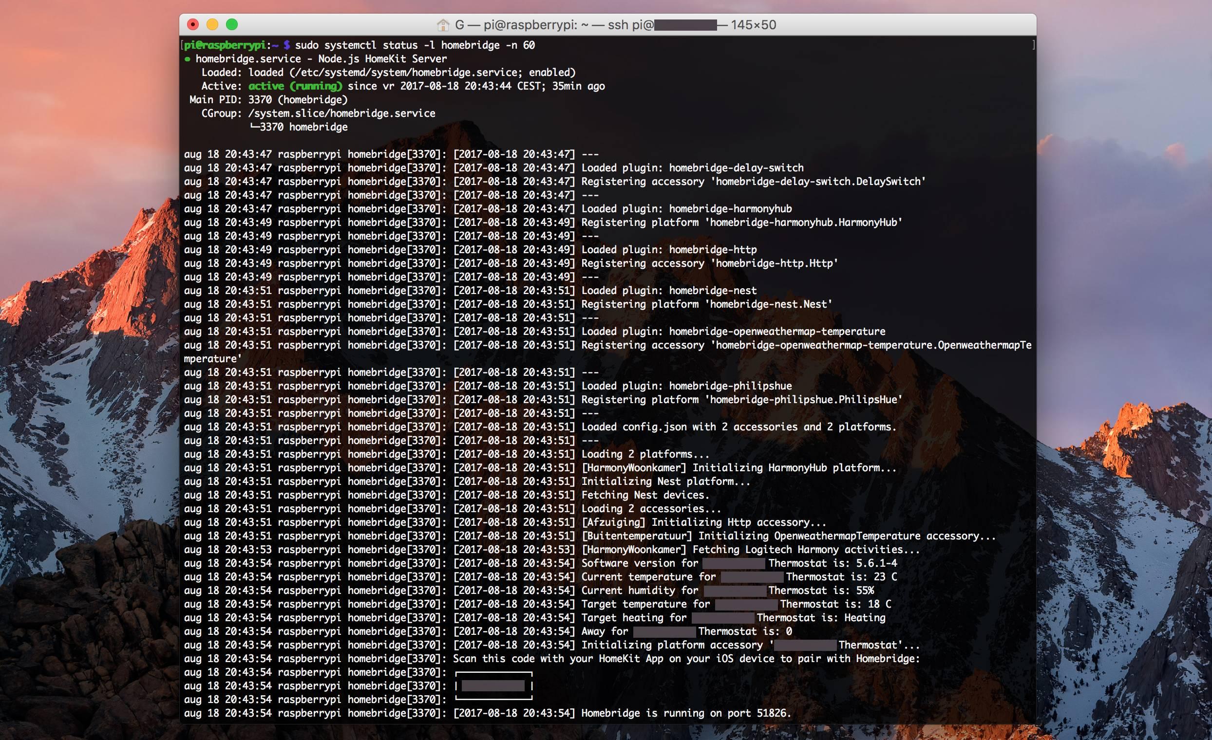 Github Gerarddvb Homebridge On Raspberrypi Example Of