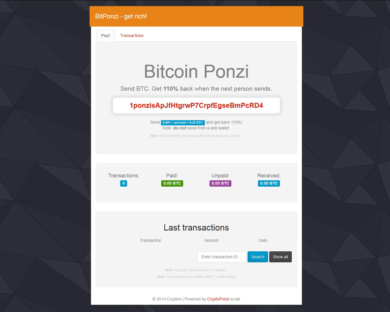 bitcoin dice script