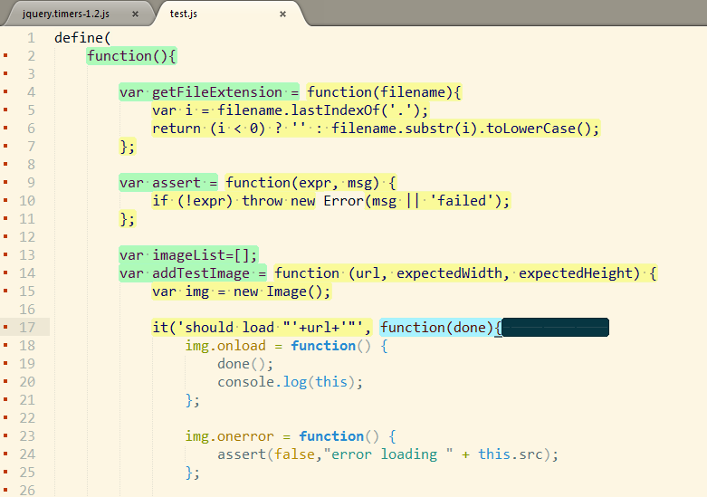 highlighting stops after a few code lines · Issue #2 · mazurov