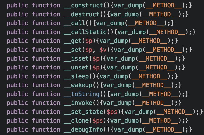 incorrect __toString capitalisation
