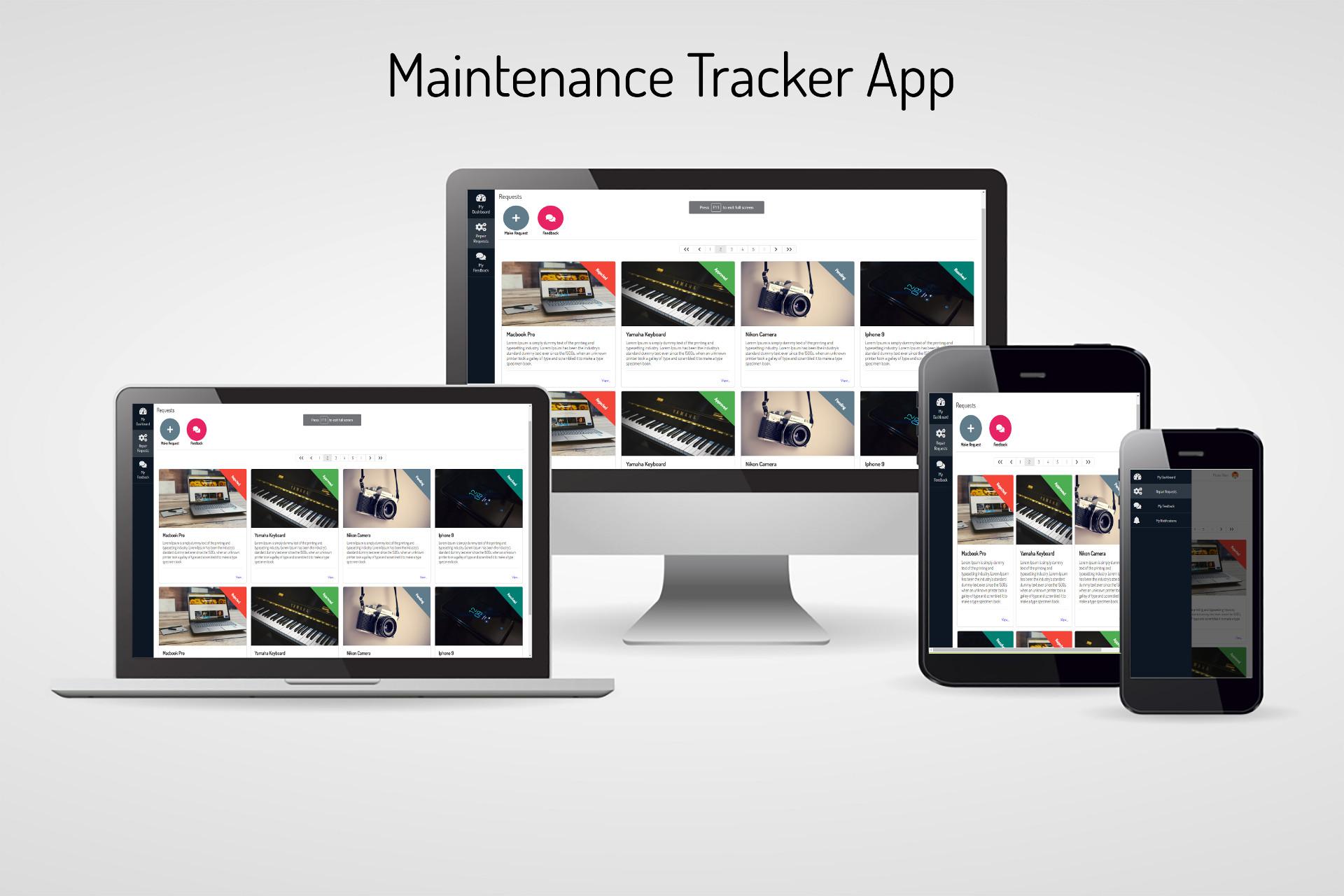 github gitaumoses4 maintenance tracker andela maintenance tracker