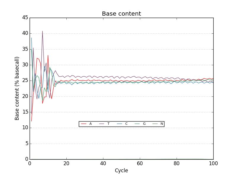 nucleotide plot