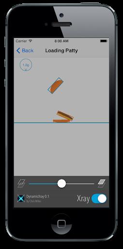 DynamicXray + UIKit Pinball