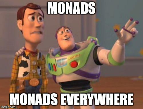 monad everywhere