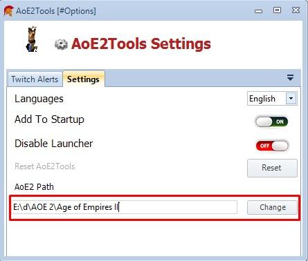 Change Age of Empires 2 Installation folder