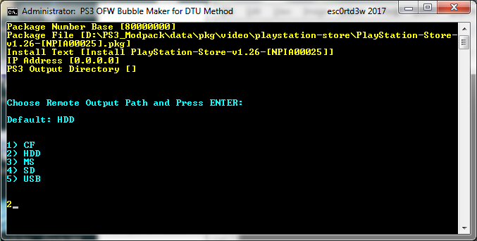 GitHub - esc0rtd3w/ps3-ofw-bubble-maker: Create Bubble