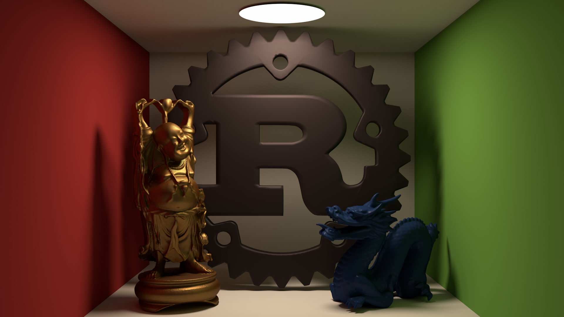Rust Logo with friends
