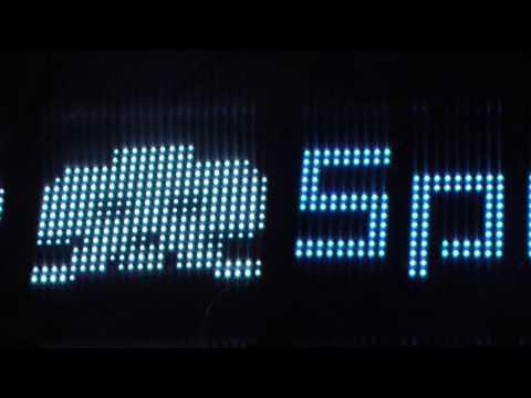Led Matrix 16x64