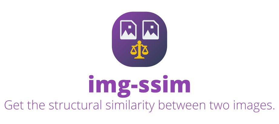 GitHub - IonicaBizau/img-ssim: Get the structural similarity between