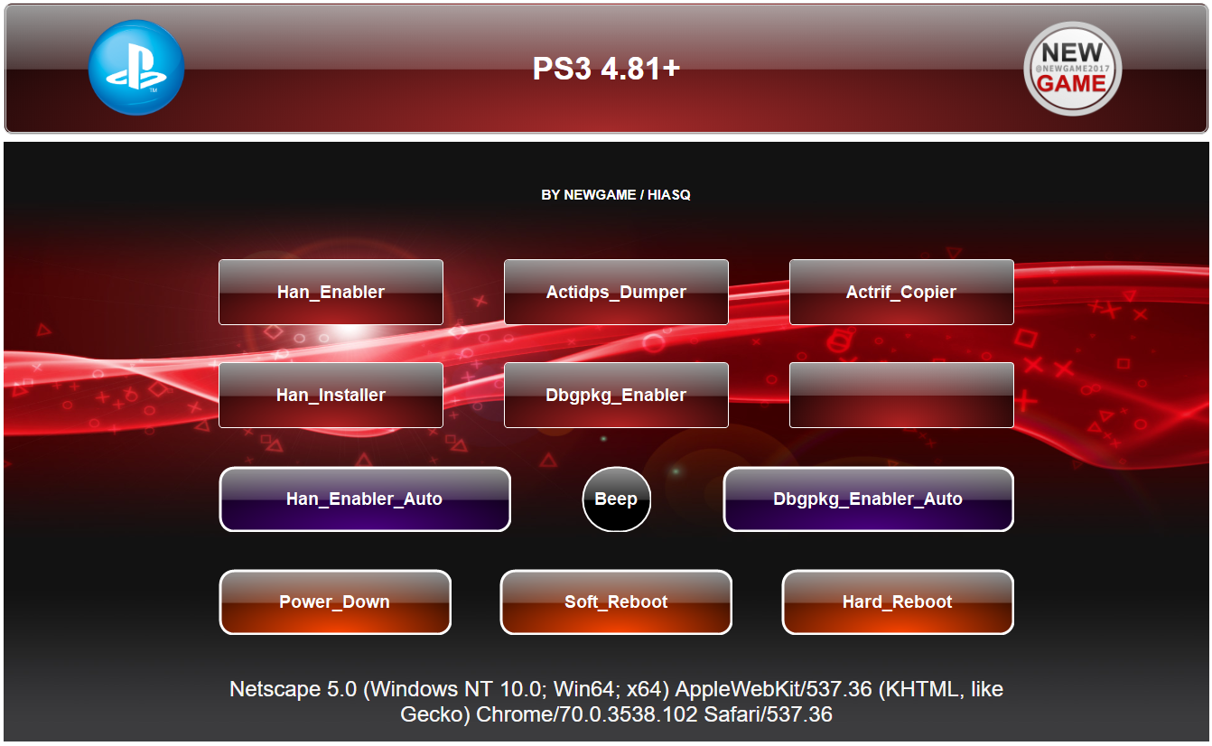 ⚡ Ps3 han | PS3Xploit 3 0 released, compatible with all PS3s on