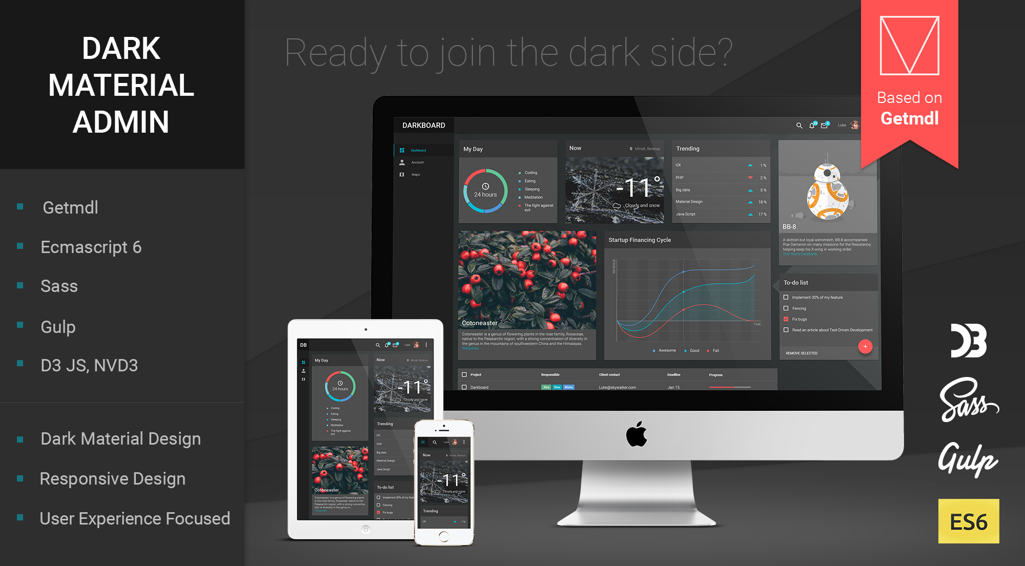 GitHub - CreativeIT/material-dashboard-lite: A free dashboard ...