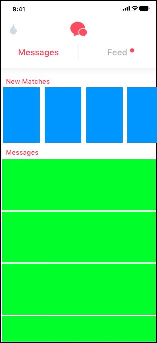 Simplified List Header View