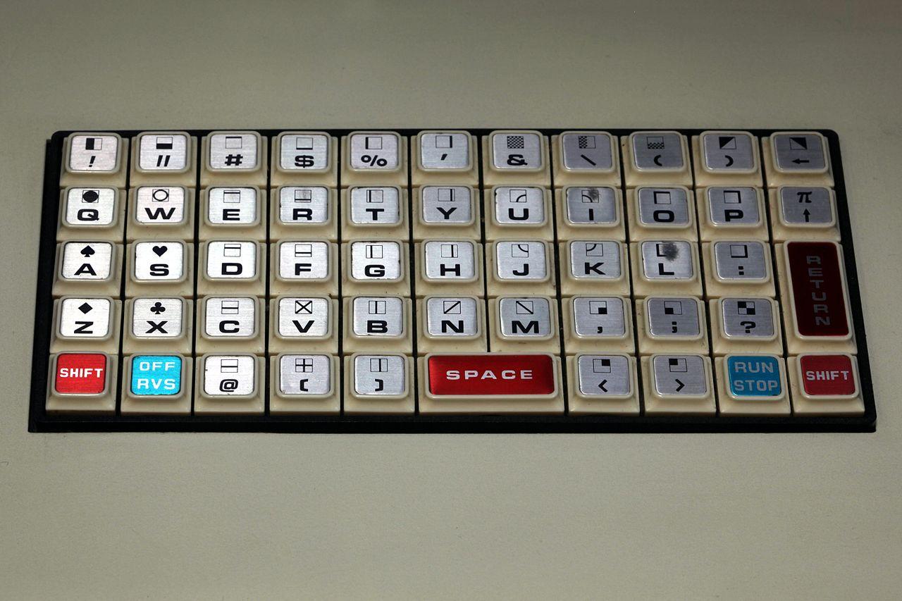Commodore PET keyboard