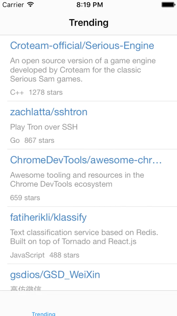 GitHub API Client image 1