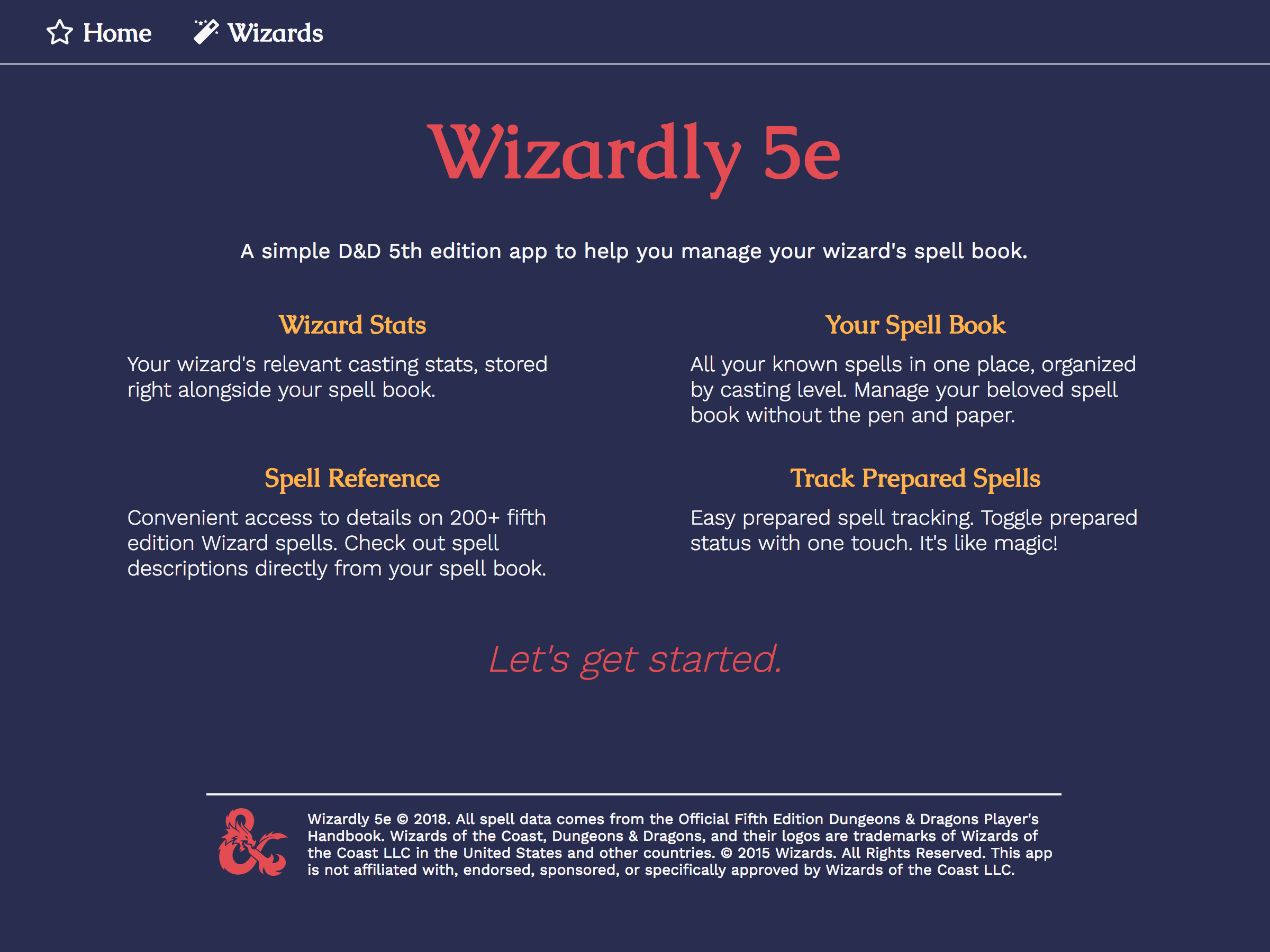 Wizardly-5e/readme md at master · owcollier/Wizardly-5e · GitHub
