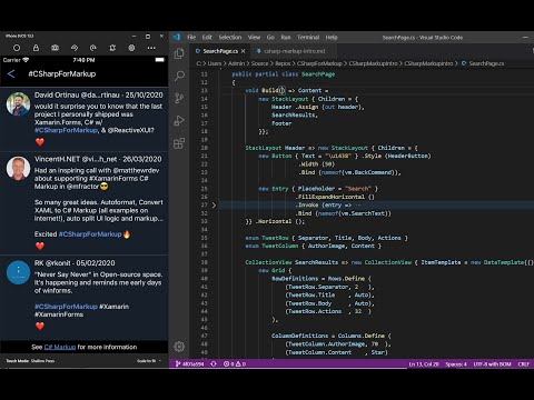 Introducing Xamarin Forms C# Markup
