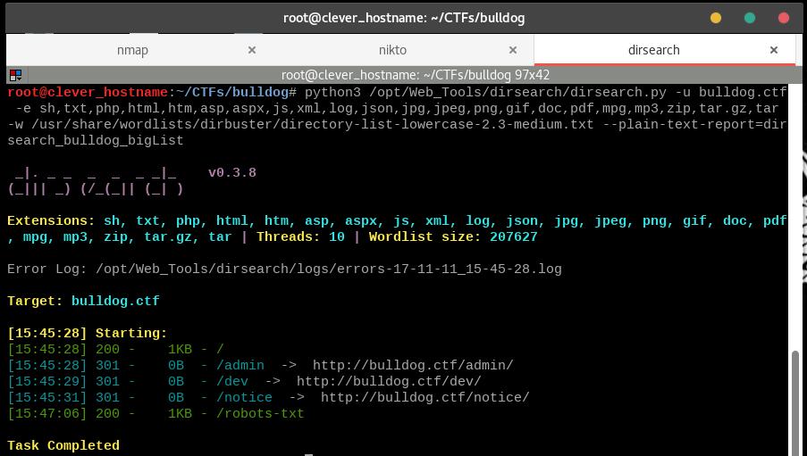 CTF Writeup: Bulldog on VulnHub · GitHub