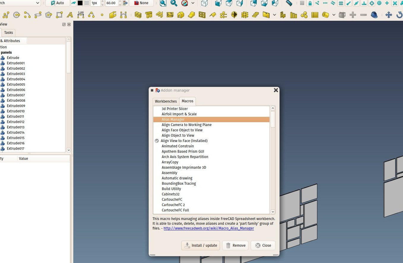 FreeCAD BIM development news 01 March 2017 · yorikvanhavre