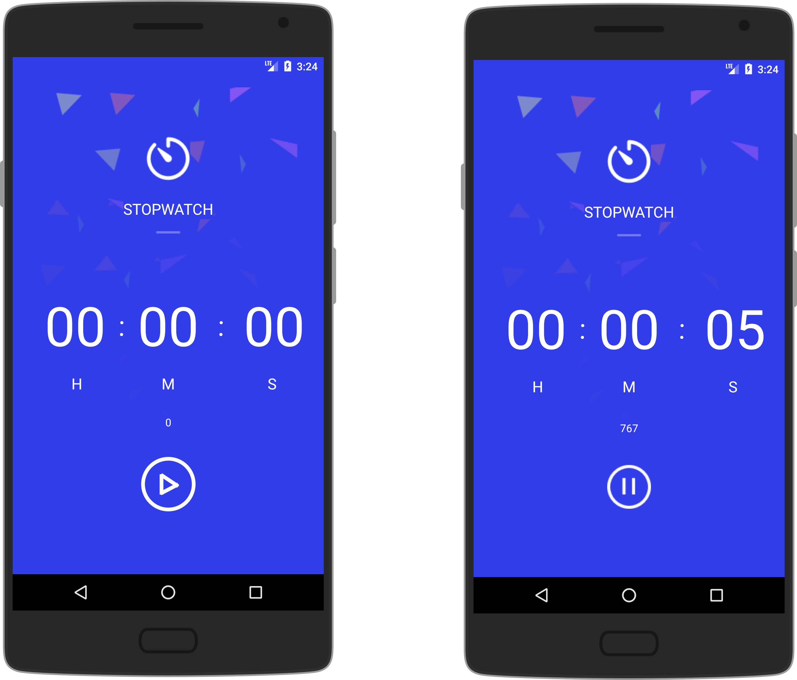 StopWatch - Sample Code and Directory of libraries for Android