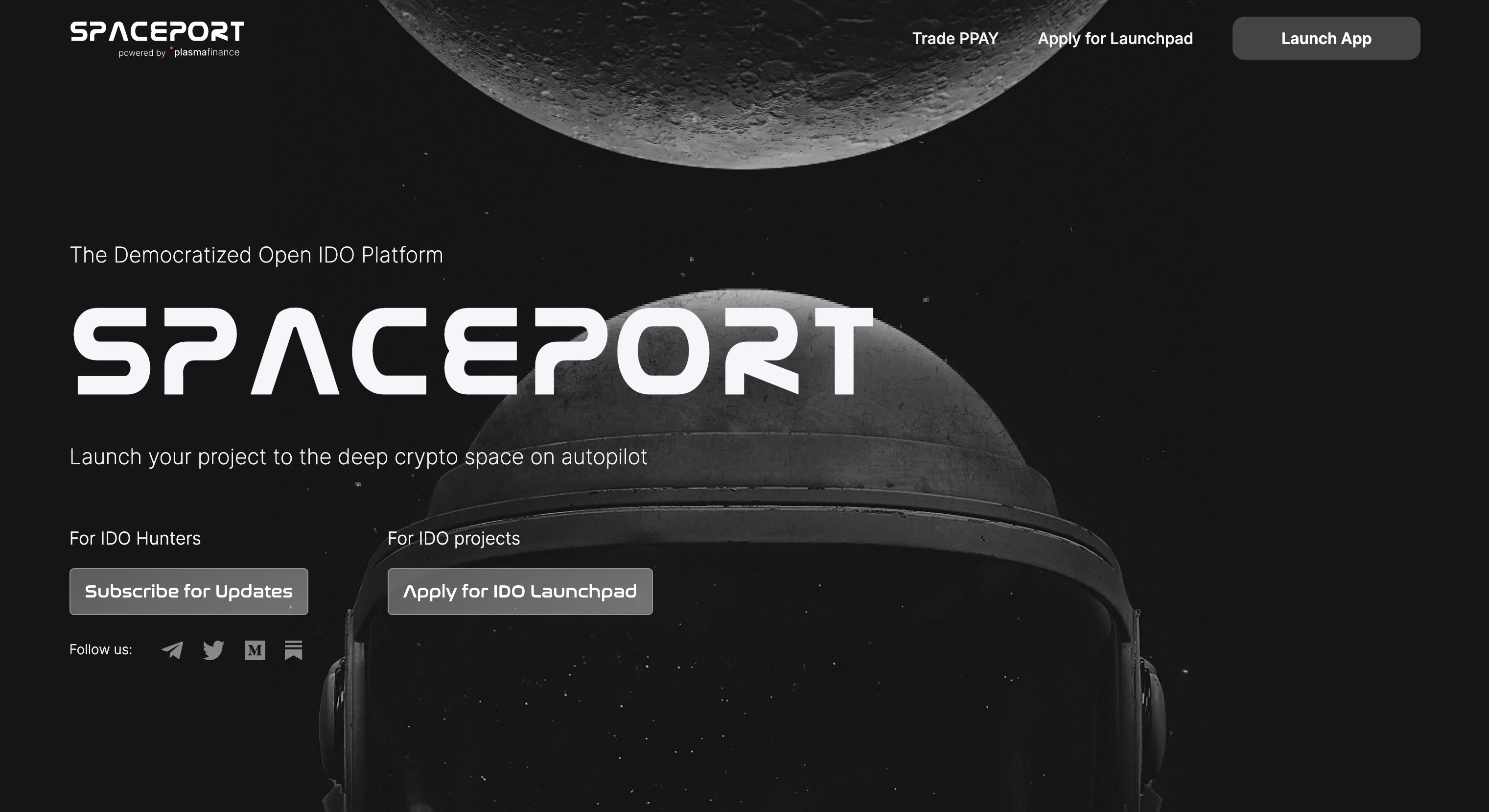 Spaceport - Decentralized Cross-Chain IDO Launchpad - Spaceport-分散式跨链IDO发射台