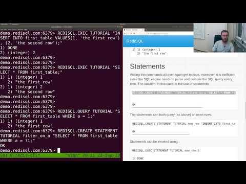 RediSQL tutorial