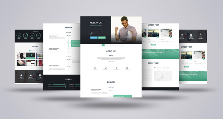 Github ahmedfarukiamx html a free one page html5css3 template demo template demo yelopaper Gallery