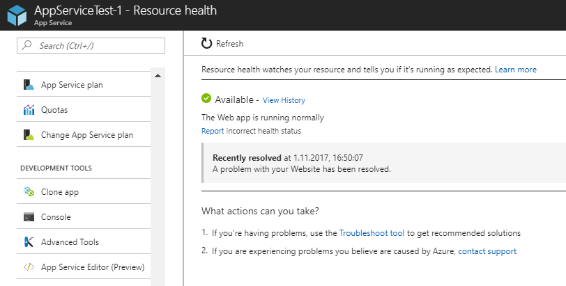 App fails to start when Azure App Service changes underlying VM