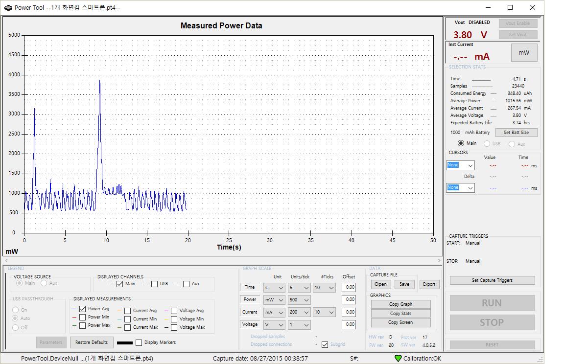 Monsoon Power Monitor : 몬슨 monsoon 파워모니터 power monitor 를 이용한 안드로이드 앱 전력 소모 측정