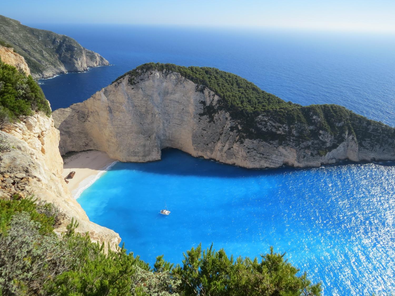 壮观的海岸景观
