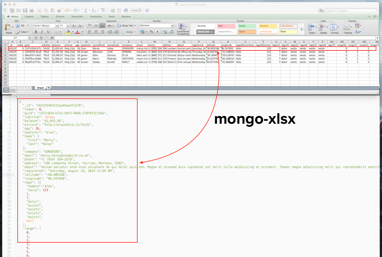 GitHub - Moblox/mongo-xlsx: Convert Mongo data into Excel