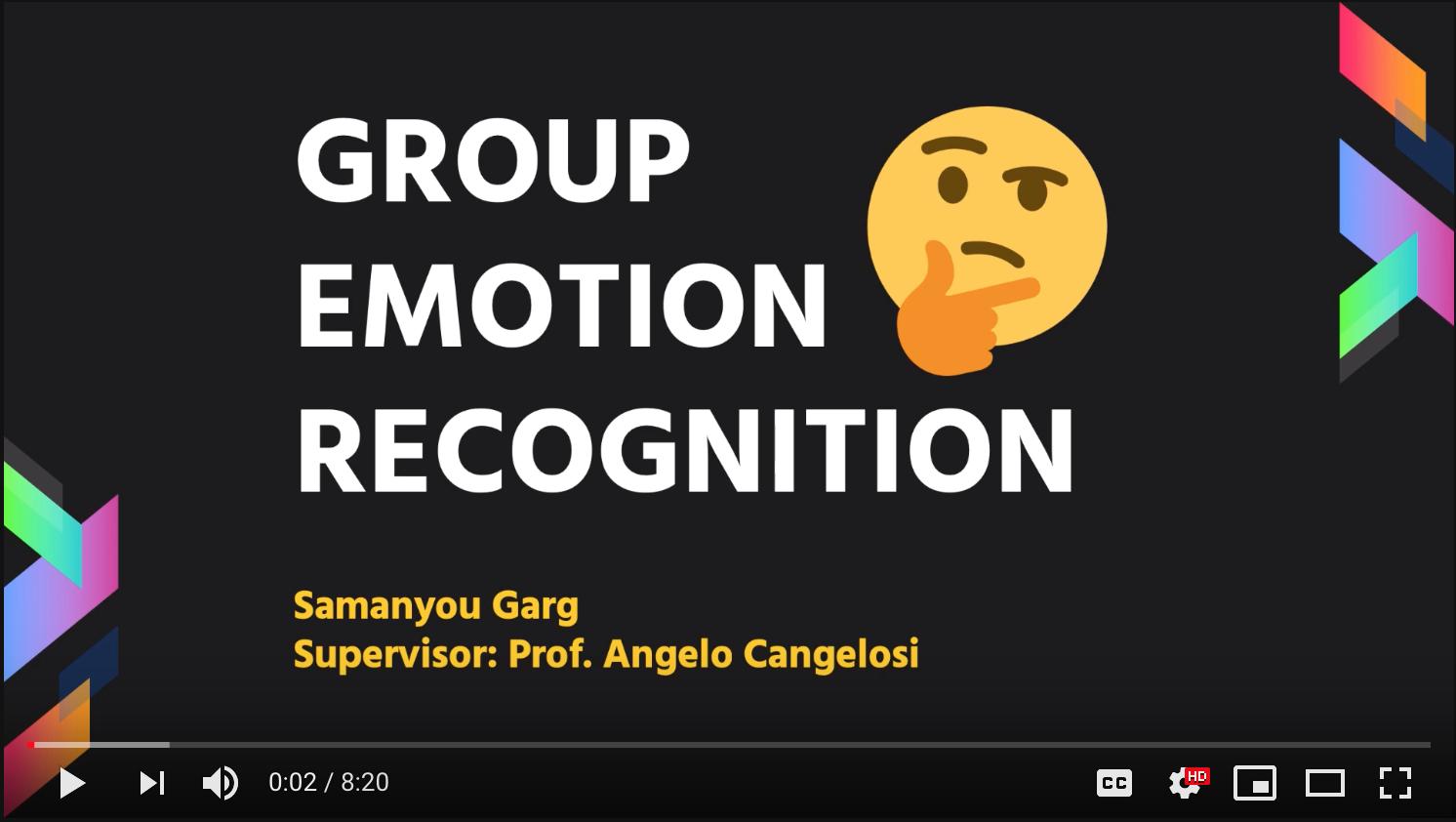 GitHub - samanyougarg/Group-Emotion-Recognition: Group Emotion